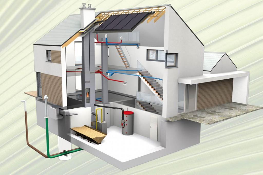 Moderne Wohnraumlüftungssysteme erkennen, wie viel Bedarf anfrischer Luft notwendig ist.