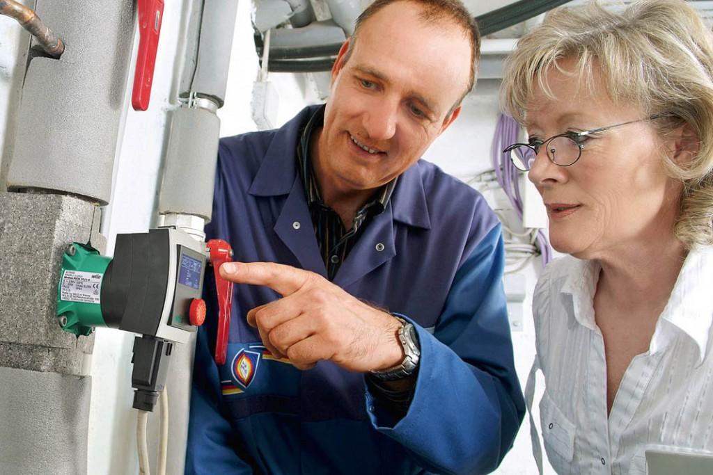 Elektronisch geregelte Heizungspumpen finden automatisch die goldene Mitte zwischen hohem Wärmekomfort und minimalen Kosten. Wilo