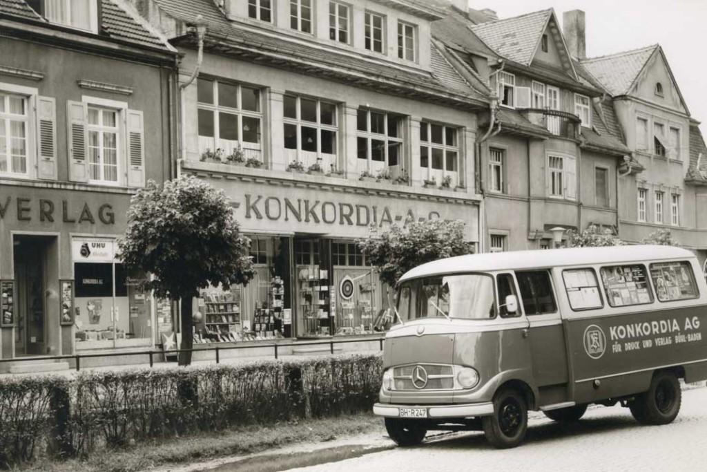 """Beim Umbau der Konkordia Druckerei blieb ein Stück Stadtgeschichte erhalten. Die neuen """"Konkordia Lofts und Wohnen"""" (oben) sind sowohl gestalterische als auch energetische Highlights. Foto: Ökofen"""